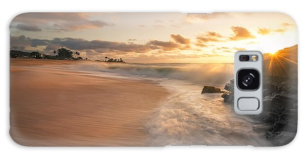 Sun And Sandy Beach Galaxy Case by Hawaii  Fine Art Photography
