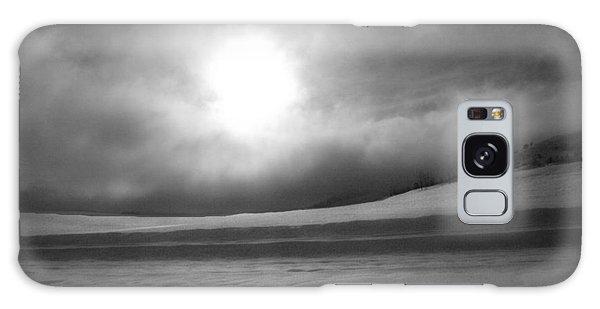 Sun And Snow Galaxy Case
