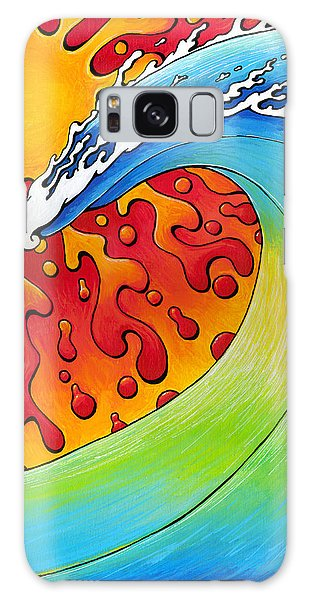 Sun And Surf Galaxy Case