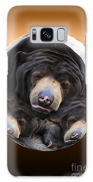 Sun Bears In A Ball Galaxy Case