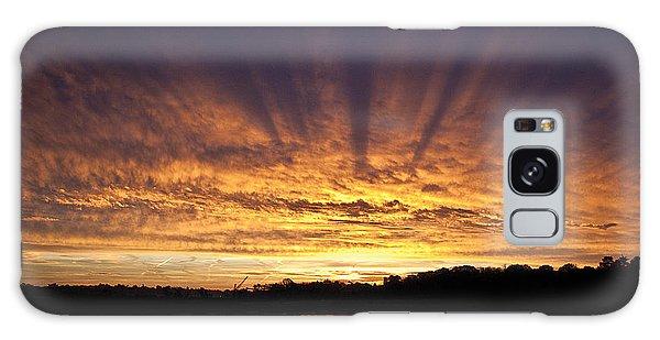 Sun Blast Galaxy Case by David Davies