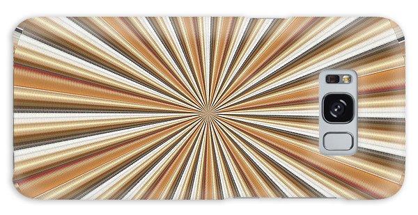 Sun Chakra Gold Round Circle Sparkle Motivational Decoration Yoga Meditation Tool Galaxy Case