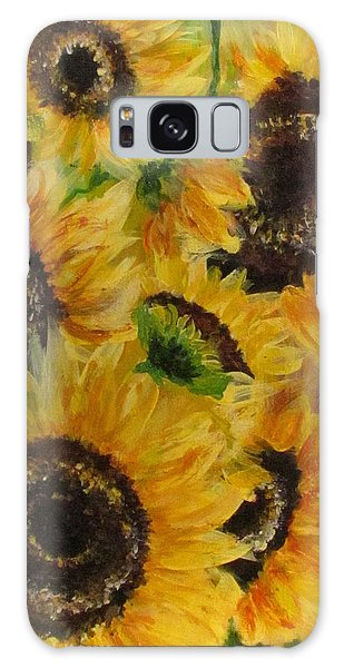 Sun Danse Galaxy Case by France Laliberte