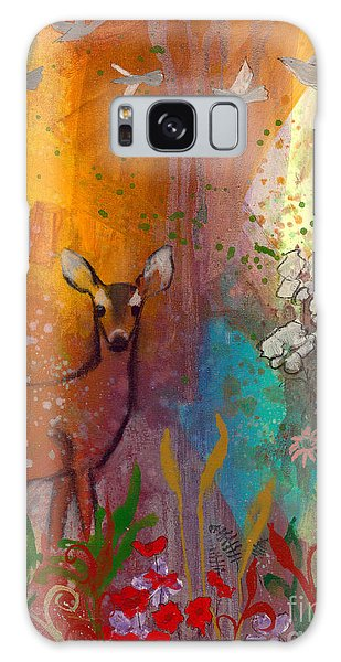 Sun Deer Galaxy Case