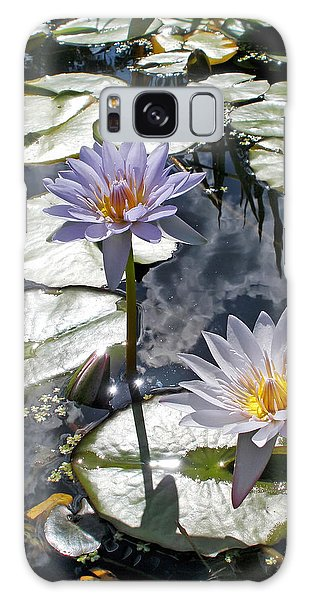 Sun-drenched Lily Pond         Galaxy Case