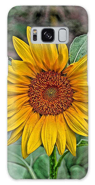 Sun Flower Galaxy Case
