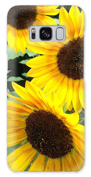 Sun Flowers Galaxy Case