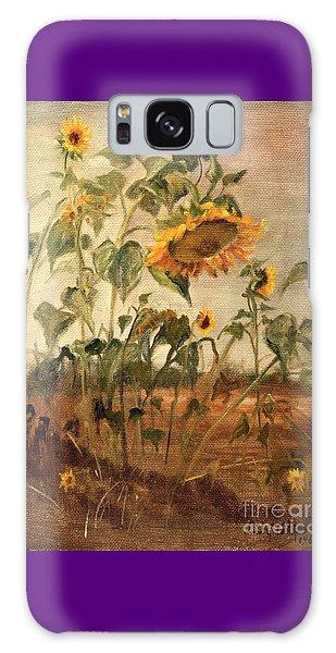 Sun Flowers Galaxy Case
