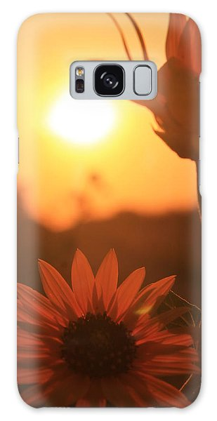 Sun Glow Galaxy Case by Alicia Knust