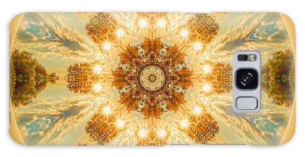 Sun Glow Mandala Galaxy Case
