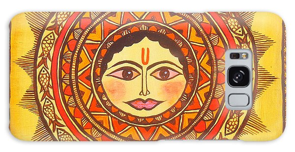 Madhubani Galaxy Case - Sun God-source Of Energy by Shishu Suman