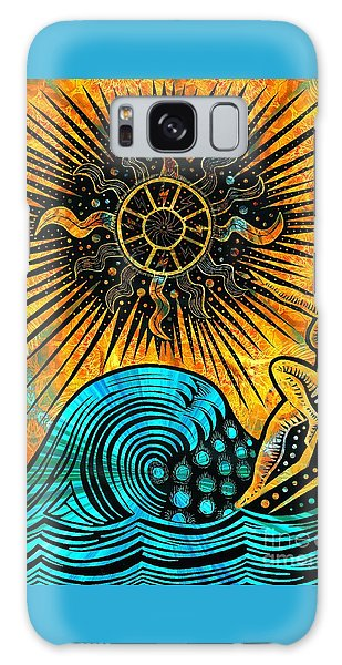 Big Sur Sun Goddess Galaxy Case