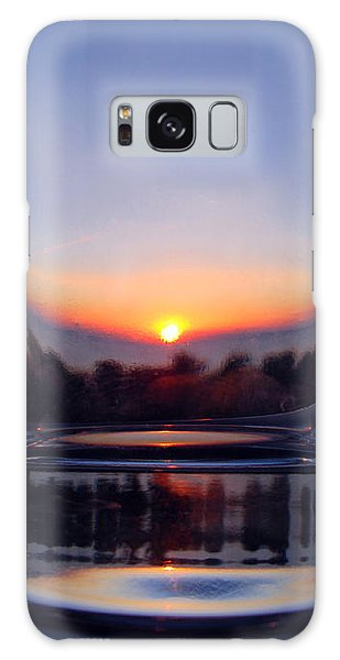 Sun In The Glass Galaxy Case