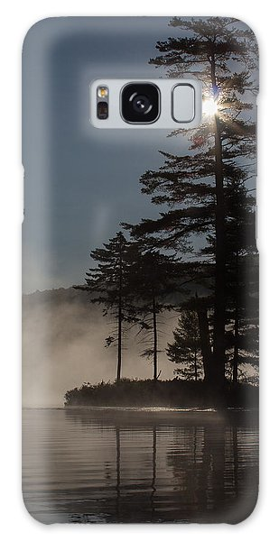 Sun Is Up At The Lake Galaxy Case