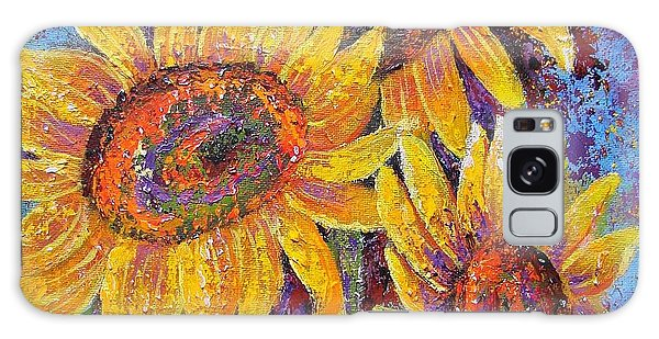 Sun-kissed Beauties Galaxy Case by Margaret Bobb