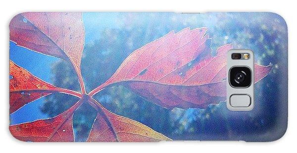 Sun Leaf Galaxy Case
