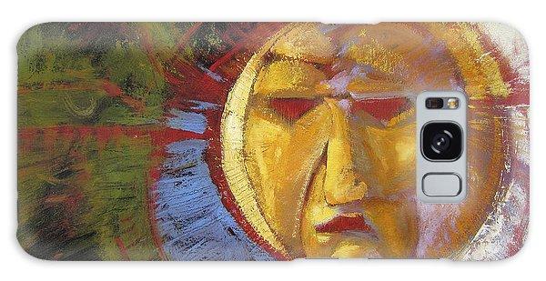 Sun Mask Galaxy Case