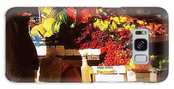 Sun On Fruit Galaxy Case by Miriam Danar
