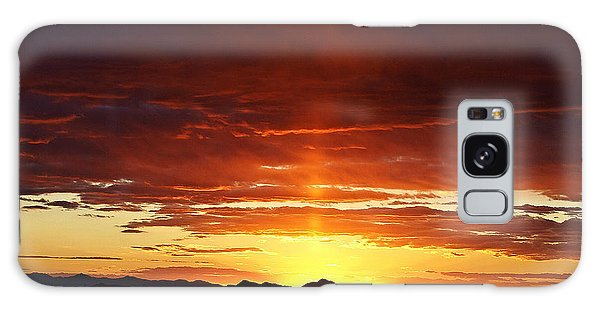 Sun Pillar Galaxy Case