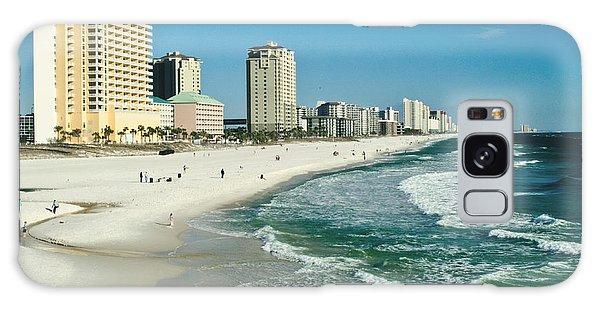 Sun Surf Sand And Condos Galaxy Case
