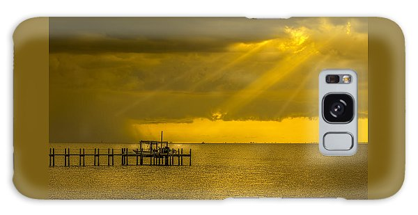 Sunbeams Of Hope Galaxy Case by Marvin Spates