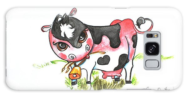 Sunburned Cow Galaxy Case by Shelley Overton