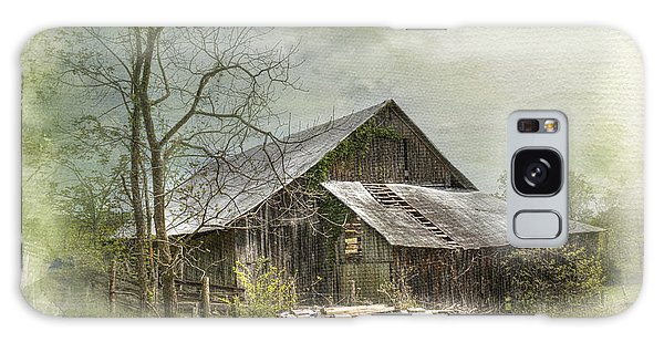 Sunday Drive Barn Galaxy Case by Kathleen Holley