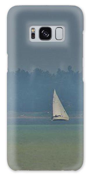Sunday Sailing  Galaxy Case by Daniel Thompson