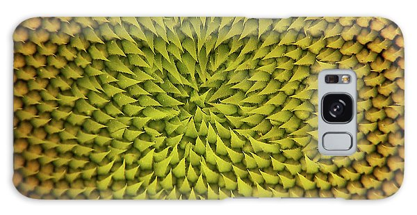Sunflower Sundial Galaxy Case