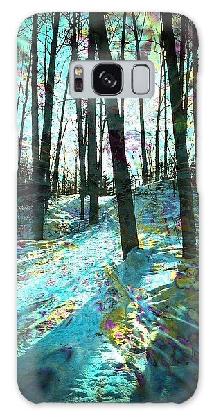 Sundog Reflections Galaxy Case by Shirley Sirois