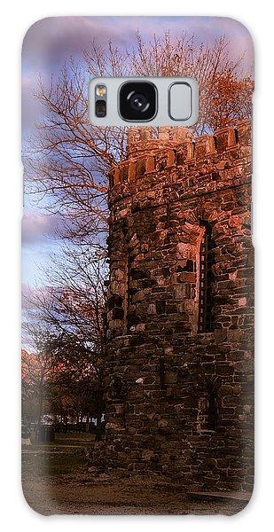 Sundown At Rhineland Castle Galaxy Case