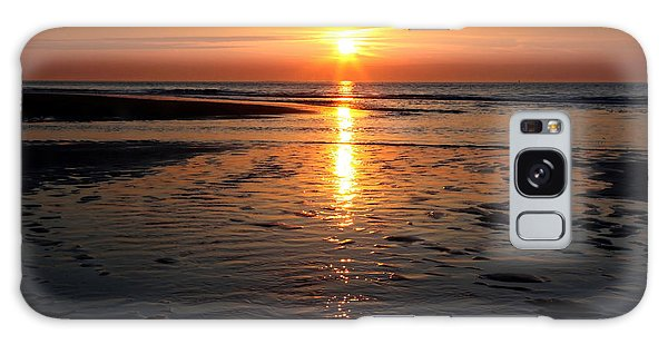 Sundown At The North Sea Galaxy Case