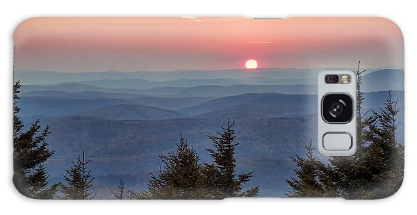 Sundown From Spruce Knob Galaxy Case