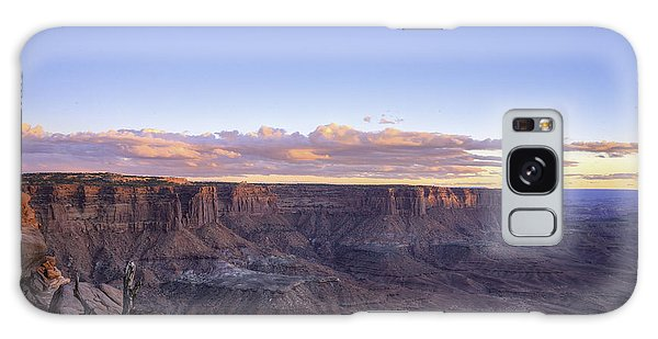 Sundown Green River Overlook Galaxy Case