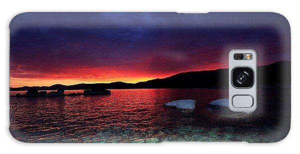 Sundown In Lake Tahoe Galaxy Case