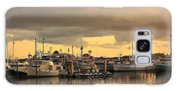 Sundown In The Bay... Galaxy Case by Tammy Schneider
