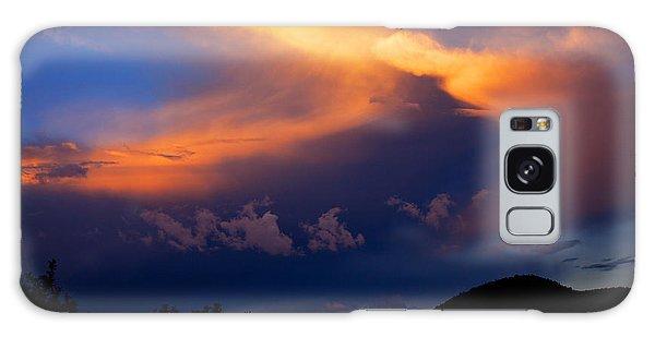 Sundown In The Canyon Galaxy Case
