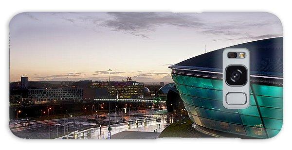 Sundown Over Glasgow Galaxy Case by Stephen Taylor