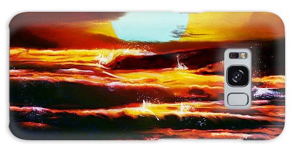 Sundown Galaxy Case