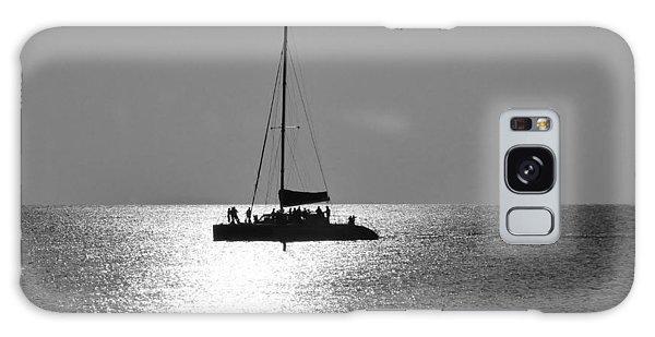 Sundown Sail Galaxy Case by Amar Sheow
