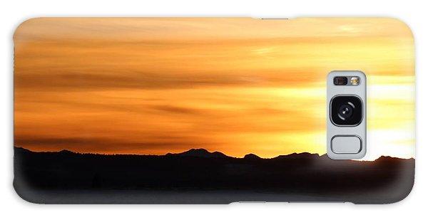 Sundre Sunset Galaxy Case