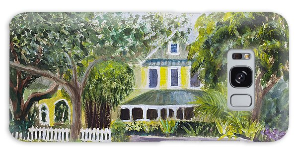Sundy House In Delray Beach Galaxy Case by Donna Walsh