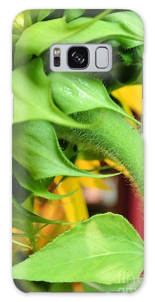 Sunflower - The Back Side Galaxy Case