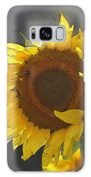 Conyers Galaxy Case - Sunflower 2 by Cathy Lindsey