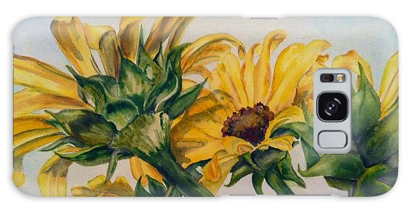 Sunflower 2 Galaxy Case