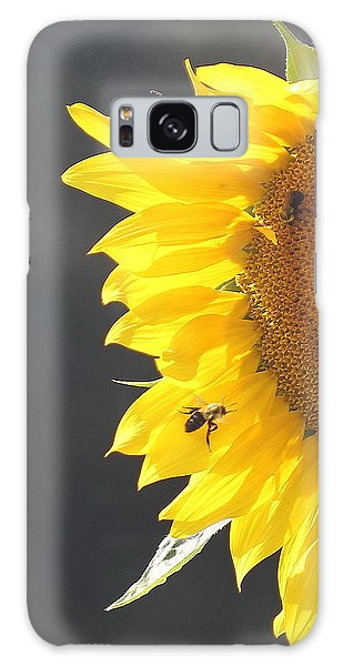 Conyers Galaxy Case - Sunflower 3 by Cathy Lindsey