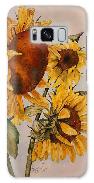 Sunflower 5 Galaxy Case