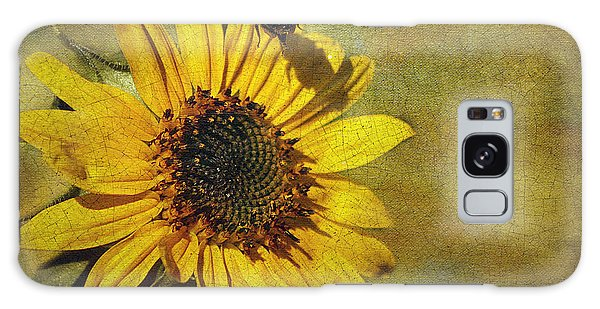 Sunflower And Bumble Bee Galaxy Case