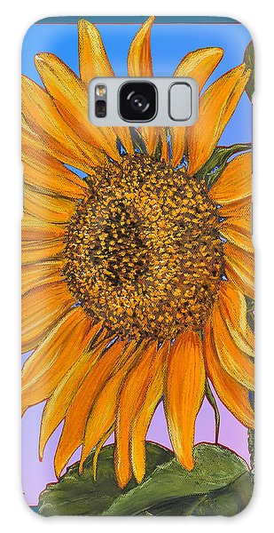 Da154 Sunflower By Daniel Adams Galaxy Case