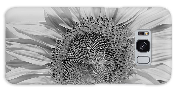 Sunflower Black And White Galaxy Case